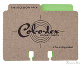 Col-o-dex Tab Accessory Pack - Limeade Green
