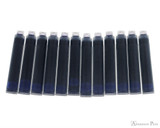 Monteverde Sapphire Ink Cartridges (12 Pack) - Cartridges
