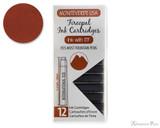 Monteverde Fireopal Ink Cartridges (12 Pack)