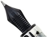 TWSBI 580ALR Fountain Pen - Nickel Gray - Feed