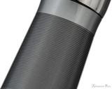 TWSBI 580ALR Fountain Pen - Nickel Gray - Section