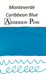 Monteverde Caribbean Blue Ink Color Swab