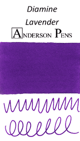 Diamine Lavender Ink Color Swab