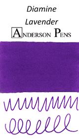 Diamine Lavender Ink Color Swab