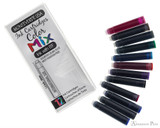 Monteverde Mix Pack Ink Cartridges (12 Pack) - Cartridges and Package