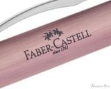 Faber-Castell Essentio Ballpoint - Aluminum Rose - Imprint