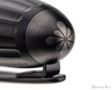 Diplomat Aero Fountain Pen - Black - Cap Top
