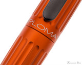 Diplomat Aero Fountain Pen - Orange - Imprint