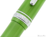 Sailor 1911 Large Fountain Pen - Key Lime with Rhodium Trim - Cap Band