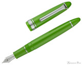 Sailor 1911 Standard Fountain Pen - Key Lime with Rhodium Trim - Open