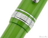 Sailor 1911 Standard Fountain Pen - Key Lime with Rhodium Trim - Cap Band 2