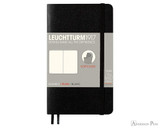 Leuchtturm1917 Softcover Notebook - A6, Blank - Black