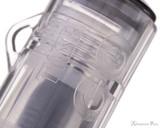 TWSBI GO Fountain Pen - Smoke - Cap Transparency