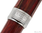 Visconti Van Gogh Fountain Pen - Red Vineyard - Cap Band 2