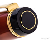Pilot Custom Urushi Fountain Pen - Vermillion - Cap Jewel
