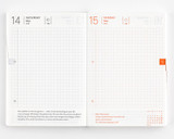 Hobonichi 2022 Techo Planner ONLY - A6 - Daily