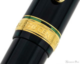 Platinum 3776 Century Fountain Pen - Laurel Green - Cap Band