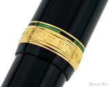 Platinum 3776 Century Fountain Pen - Laurel Green - Cap Band 2