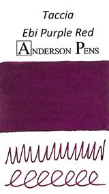 Taccia Ebi Purple Red Ink Color Swab