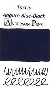 Taccia Aoguro Blue-Black Ink Color Swab