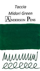 Taccia Midori Green Ink Color Swab