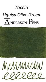 Taccia Uguisu Olive Green Ink Color Swab