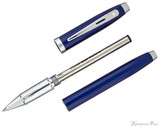 Sheaffer 100 Rollerball - Blue Lacquer with Chrome Trim - Parted Out