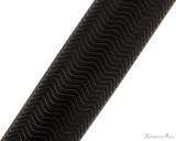 Sheaffer Intensity Fountain Pen - Matte Black with Gold Trim Pattern