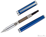 Sheaffer Intensity Fountain Pen - Blue Lacquer with Chrome Trim - Parted Out