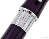 Cross Beverly Ballpoint - Deep Purple Lacquer with Chrome Trim - Pattern