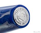 Visconti Mirage Fountain Pen - Aqua - Barrel End Jewel