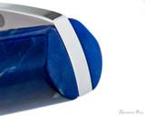 Visconti Mirage Fountain Pen - Aqua - Top of Cap
