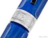 Visconti Mirage Fountain Pen - Aqua - Cap Band