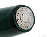 Visconti Mirage Fountain Pen - Emerald - Barrel End Jewel