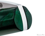Visconti Mirage Fountain Pen - Emerald - Top of Cap