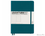 Leuchtturm1917 Notebook - A5, Dot Grid - Pacific Green