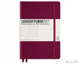 Leuchtturm1917 Notebook - A5, Dot Grid - Port Red