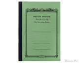 APICA CD10 Notebook - A6, Lined - Green