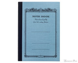 APICA CD10 Notebook - A6, Lined - Light Blue