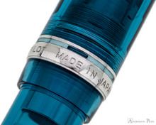 Pilot Custom 74 Fountain Pen - Teal - Cap Band