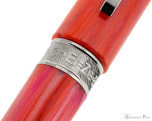 Visconti Breeze Fountain Pen - Cherry Barrel Band