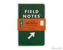 Field Notes Notebooks - Limited Edition Mile Marker Three Pack