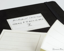 Leuchtturm1917 Notebook - A5, Lined - White - Stickers