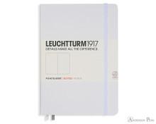 Leuchtturm1917 Notebook - A5, Dot Grid - White