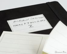 Leuchtturm1917 Notebook - A5, Dot Grid - White Sticker