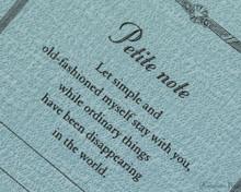 ProFolio Petite Journal - Medium, Ocean - Cover