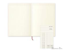 Midori MD Notebook A5 - Frame - Open