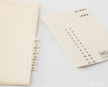Midori MD Notebook A5 - Frame - Tabs