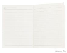 ProFolio Oasis Notebook - A6, Wintergreen - Open