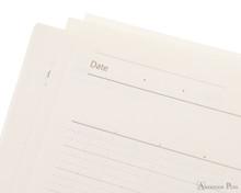 ProFolio Oasis Notebook - A6, Wintergreen - Date